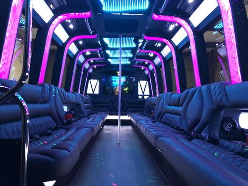 Dallas Party Bus