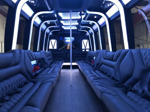 Dallas Party Bus 1