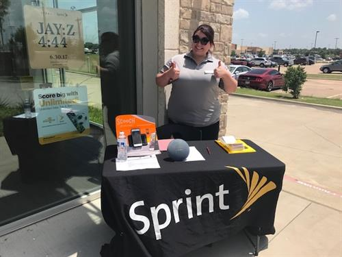 Event Specialist Promoting Sprint