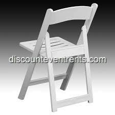 Slatted Garden Chair Rental