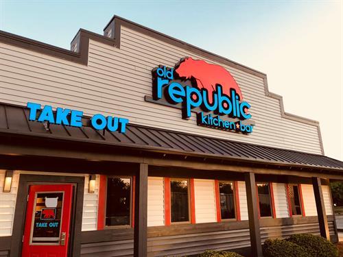 Old Republic Restaurant Renovation
