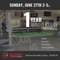 3-Step Fitness 1-Year Anniversary Open House