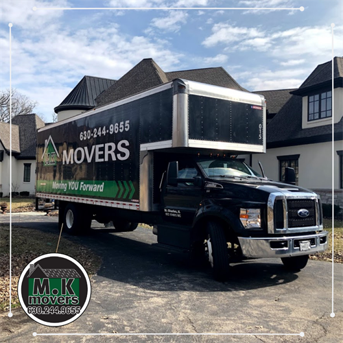M.K Movers Truck