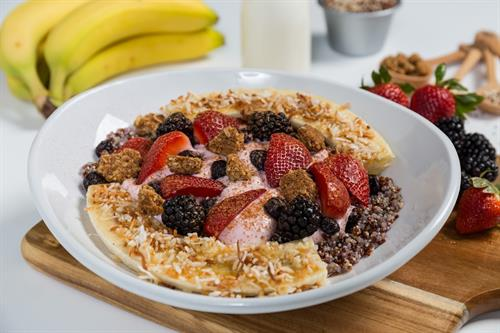 Berry, Granola, and Quinoa