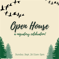 Center for Wildlife Open House - A Migratory Celebration