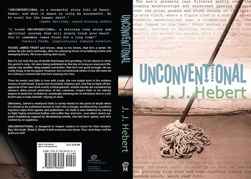 Unconventional, published by Mindstir Media. Sold over 100,000 books.