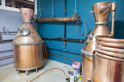 Handmade Copper Still