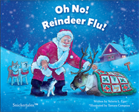 Children's Book Author Valerie Egar visits to sign holiday book ''Oh No! Reindeer Flu!''