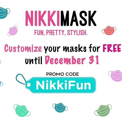 Customize Your Mask with a colorful backing and elastics to match....or not match. It's up to you and it's on us!