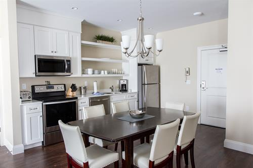 One Bedroom | Dinning Area / Kitchen