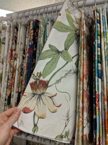 Thousands of fabric samples available!