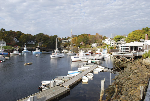 Perkins Cove just a 15 min. walk away