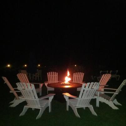 Firepit is available for all guests