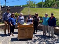 Local group raises money for bereavement cradle at Wentworth-Douglass Hospital