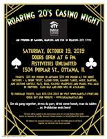 Roaring 20's Casino Night - Fundraiser
