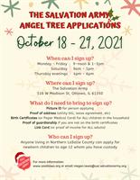 Angel Tree Applications