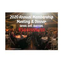 2020 Annual Membership Meeting & Dinner