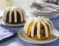 Our delicious bundt cakes are available in 10 different flavors plus a gluten-free option as well!
