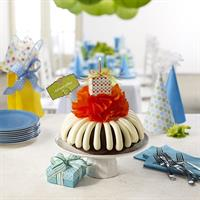 Our larger bundt cakes are perfect for any corporate birthday celebration!
