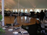 Dance Floor with High Boy tables