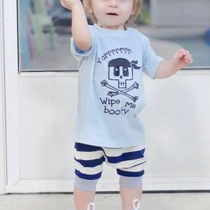 Bad Baby pirate shirt