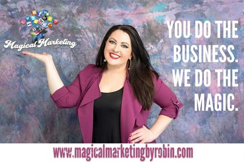 Hire Magical Marketing by Robin to take your social media to the next level!