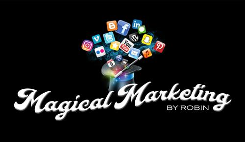 Magical Marketing by Robin logo