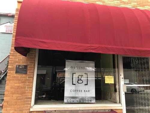 Grounded Coffee Bar opening Spring 2019!