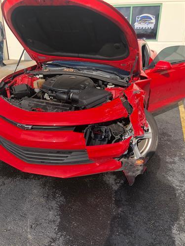 2017 Chevy Camaro Before