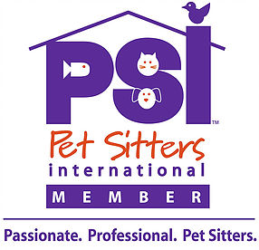 We are members of Pet Sitters International