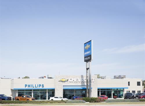 Phillips Chevrolet storefront