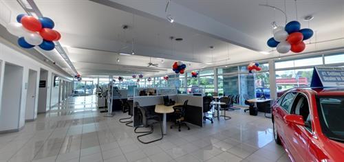 Phillips Chevrolet showroom