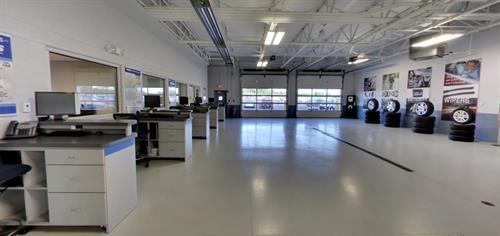 Phillips Chevrolet Service department