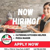 Salina's Pizza ~ Catering & Event Rentals