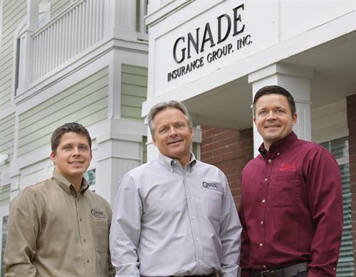 Gerard, Gary and Bryan Gnade