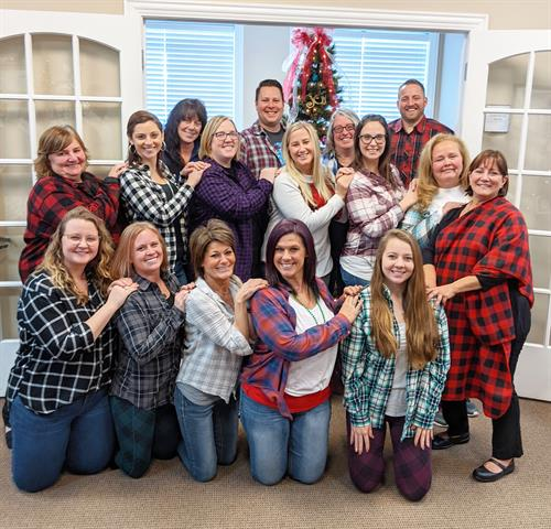 Gnade Family Flannel Day