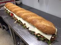 3 foot subs - try one of our White Street specialties