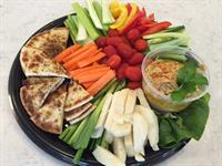Hummus Platter with our housemade hummus