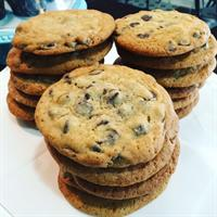 Chocolate Chip Cookies baked in the Cafe daily!