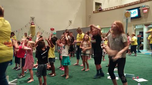 We all have a great time with Vacation Bible School each summer.