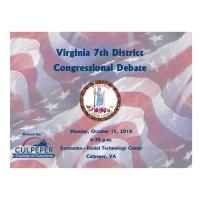 Congressional District 7 Debate