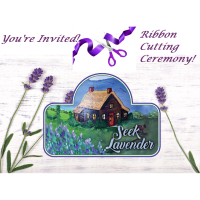 Grand Opening Ribbon Cutting - The Little House at Seek Lavender