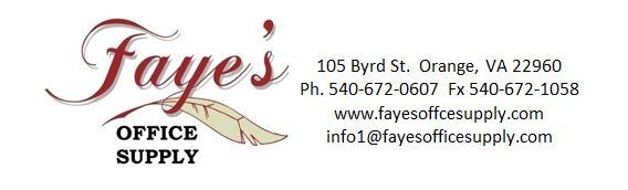 Faye's Office Supply