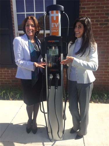 Culpeper's First Electric Car Charging Station - Free Car Charging - Compliments of Brown Harris Wealth Management