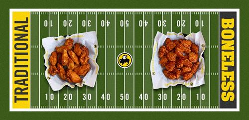 Boneless vs Traditional Wings...What say you?