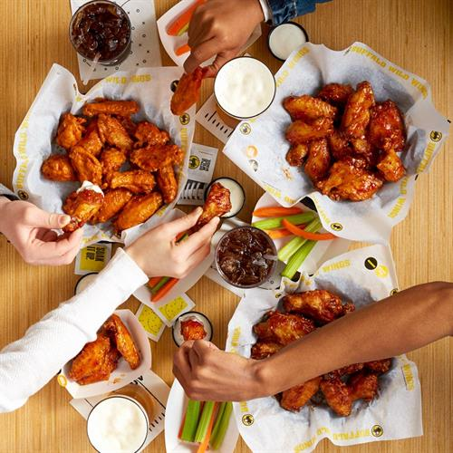 Share a great night out with friends or family at B-Dubs Today!