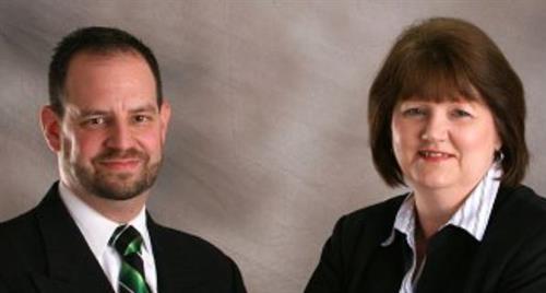 Ron Warner and Tonda Hopkins