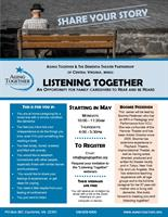 Listening Together - An opportunity for family caregivers to hear and be heard