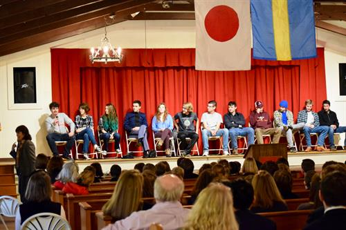 Our WCDS grads return to school each January to answer some important questions about their first impressions of college and share some great stories along the way.
