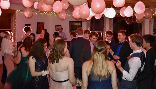 Our upper school prom is a special occasion for all students grades 9-12.